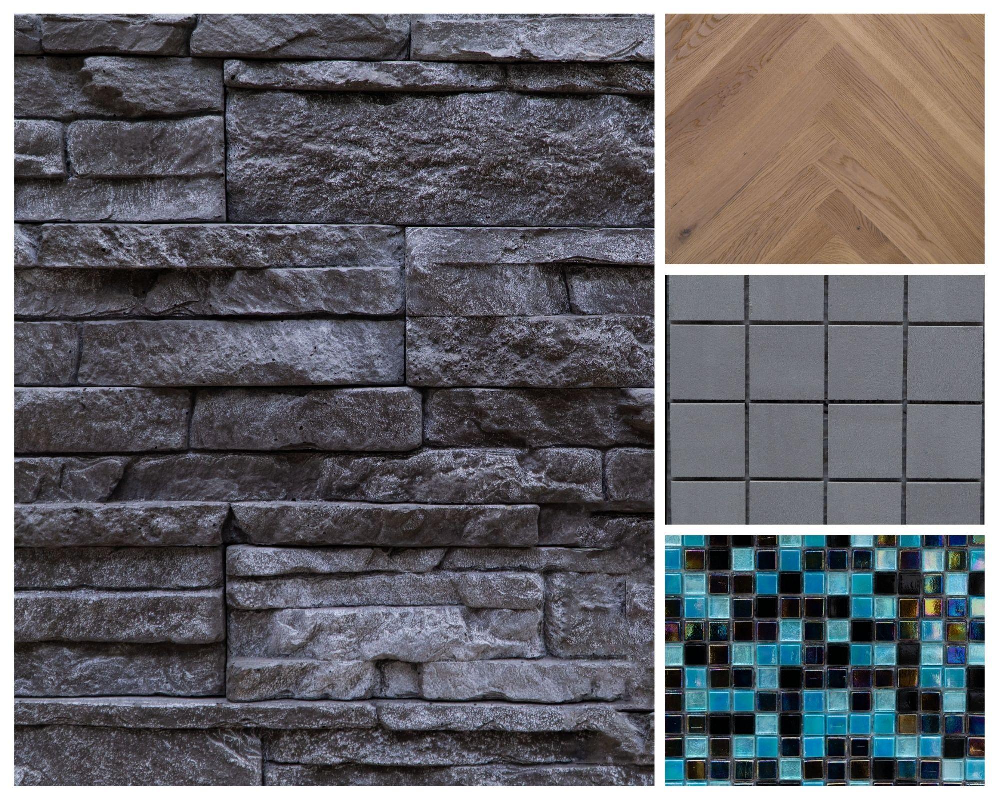 Esempi di pavimentazioni e materiali