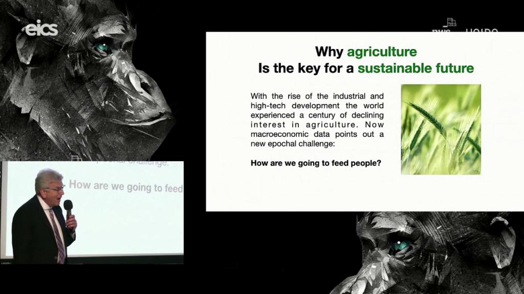 Giampaolo Barbieri ci racconta di come il Machine Learning possa essere un alleato per un'agricoltura più sostenibile e una popolazione in crescita.